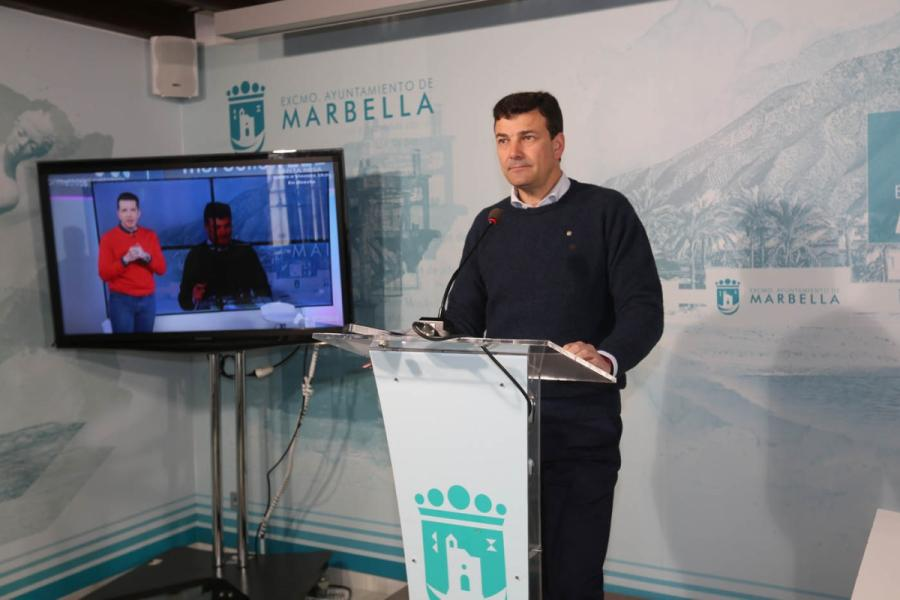 Marbella Marbella El Ayuntamiento de Marbella mantiene la eficiencia en la gestión municipal con el impulso del teletrabajo para garantizar los servicios y contener el virus Covid19