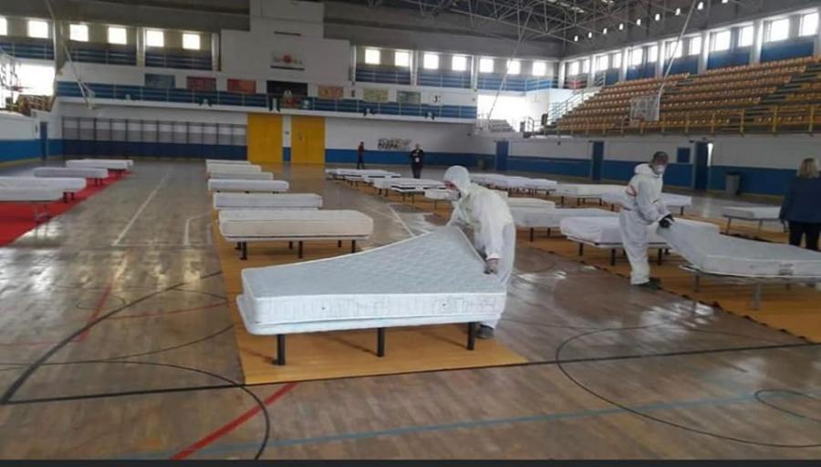 Fuengirola Fuengirola El Ayuntamiento habilita el pabellón Juan Gómez 'Juanito' para acoger a las personas sin hogar de Fuengirola