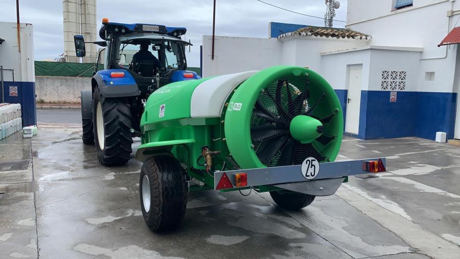 Marbella Marbella El Ayuntamiento de Marbella reforzará las labores de limpieza y desinfección frente al Covid-19 con un vehículo especial de pulverización de gran potencia