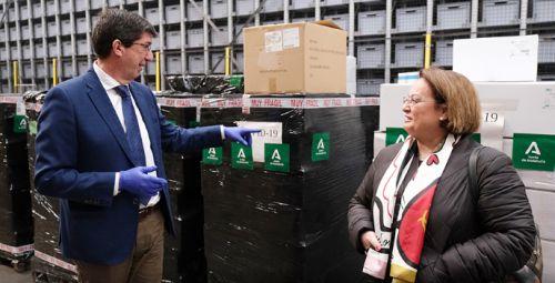 Actualidad Actualidad Marín confirma la llegada de 4 millones de unidades de material de protección sanitaria en esta semana