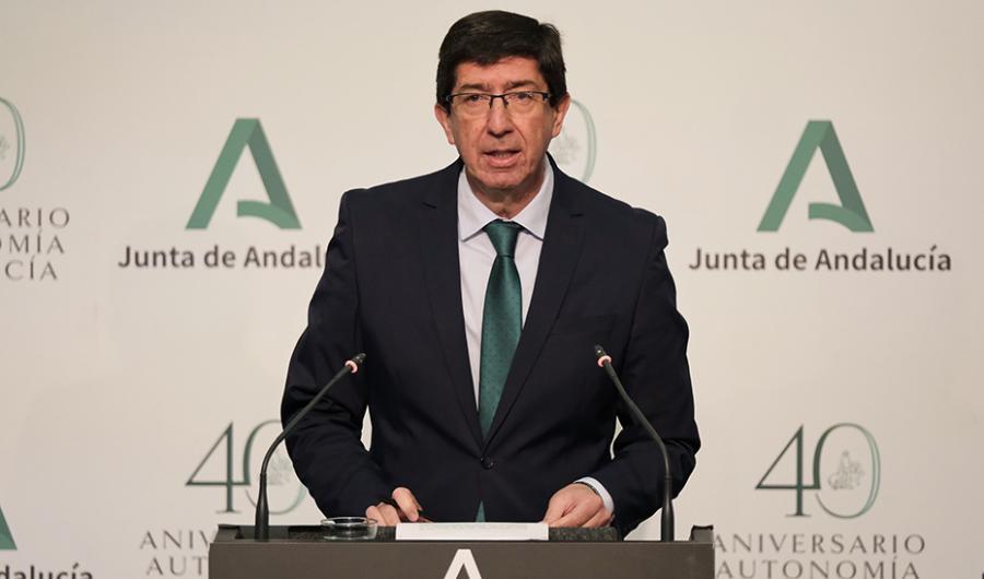 """Actualidad Actualidad Marín: """"Andalucía cuenta ya con abastecimiento garantizado de material sanitario para el próximo mes"""""""