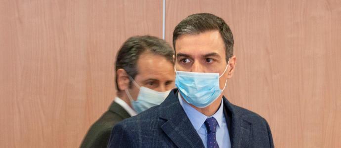 Actualidad Actualidad Pedro Sánchez destaca la unión entre empresas, trabajadores y administración pública como fórmula para salvar vidas y vencer al coronavirus