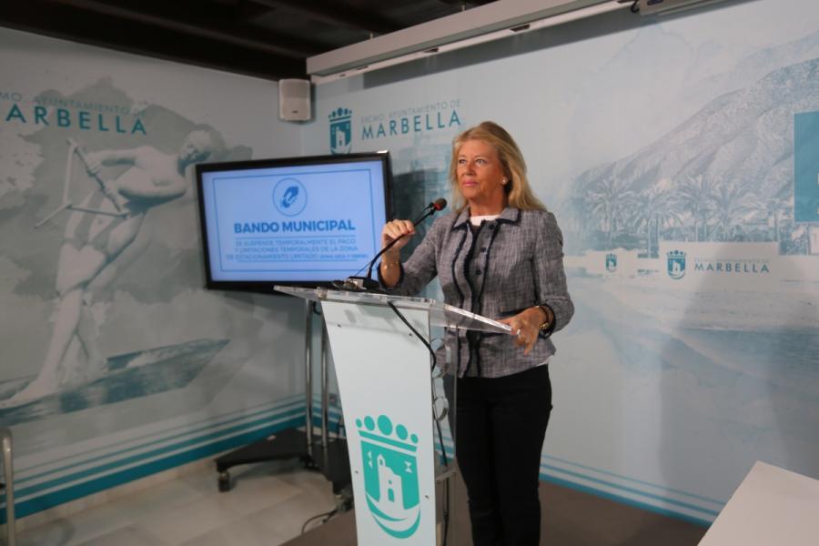Marbella Marbella El Ayuntamiento de Marbella realizará test rápidos del Covid-19 a los trabajadores municipales que prestan servicios esenciales e impulsa que se practique la prueba en las residencias de mayores