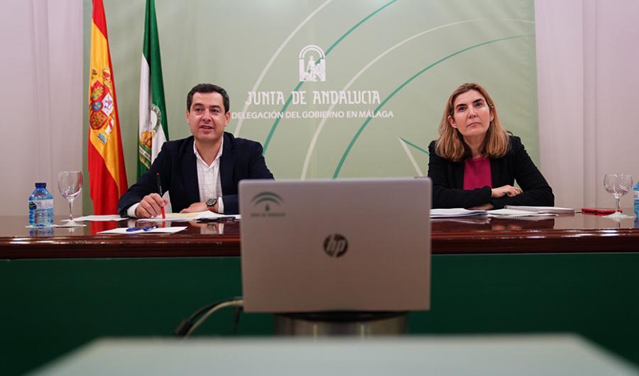Actualidad Actualidad Moreno traslada el apoyo del Gobierno andaluz a autónomos y pymes ante la crisis del coronavirus