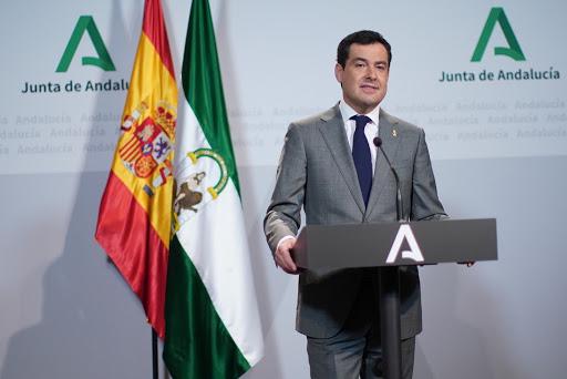 Actualidad Actualidad Moreno señala que Andalucía está en condiciones de afrontar un desconfinamiento progresivo y gradual por zonas