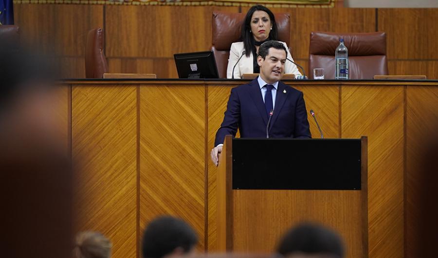 Actualidad Actualidad Moreno invita a la sociedad a una gran alianza para la recuperación económica y social de Andalucía