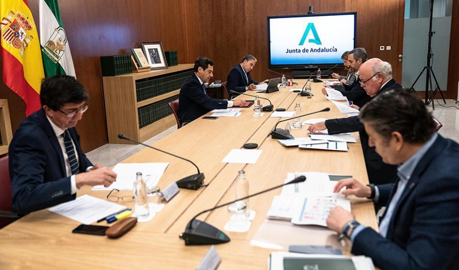Actualidad Actualidad La Junta de Andalucía presenta su plan de desescalada del confinamiento consensuada con los expertos