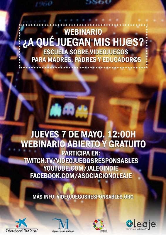 Actualidad Actualidad La Diputación de Málaga celebra un webinar gratuito sobre videojuegos dirigido a padres y educadores