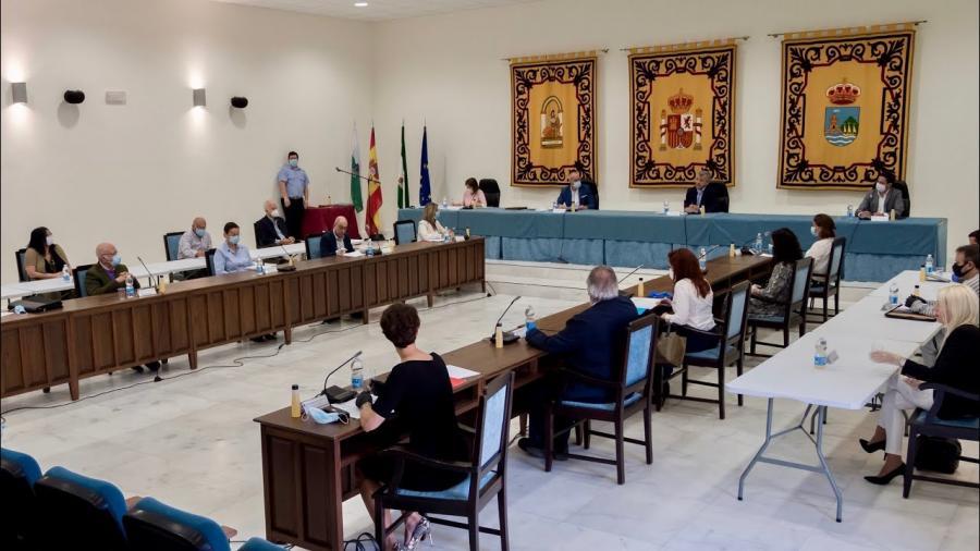 Estepona Estepona El Ayuntamiento de Estepona aprueba en Pleno la incorporación al presupuesto del superávit de 7,8 millones de euros e insta al Gobierno central que permita usarlo para necesidades derivadas del covid-19
