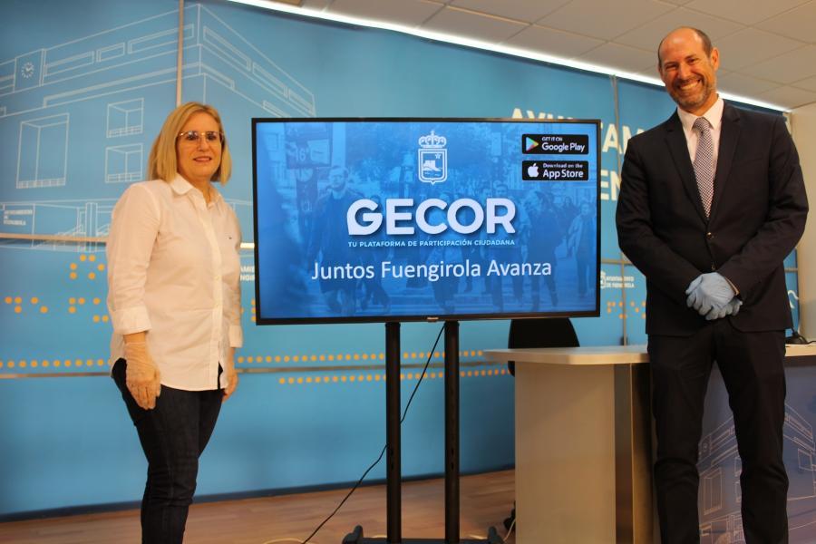 Fuengirola Fuengirola El Ayuntamiento de Fuengirola renueva su app de incidencias Gecor y amplía sus funcionalidades como canal de información con sus vecinos