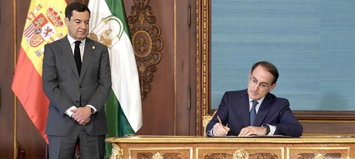 Actualidad Actualidad Moreno pone en valor que las ayudas del Gobierno andaluz a autónomos y pymes movilizan 1.000 millones de euros