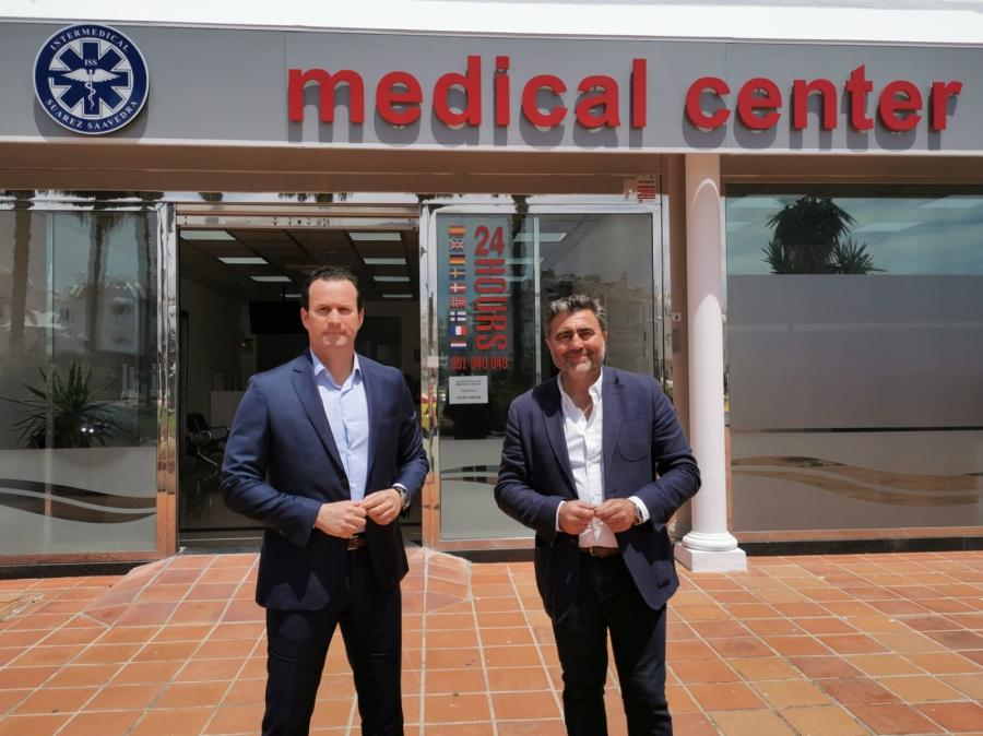 Torremolinos Torremolinos El CET e Intermedical SS cierran un acuerdo para realizar test rápidos de detección de la Covid-19 entre empresas y comercios de la localidad