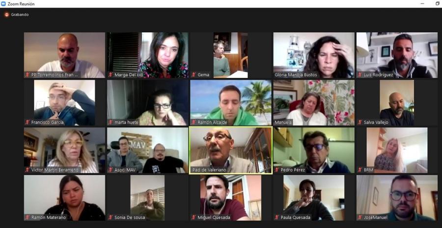 Torremolinos Torremolinos El PP de Torremolinos y entidades con fines benéficos analizan en un encuentro virtual las propuestas de mejoras en la ayuda social que se presta para paliar los efectos económicos derivados de la Covid-19