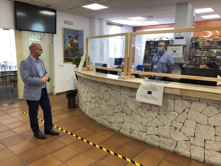 Mijas Mijas Mijas reabre sus oficinas de turismo y se prepara para relanzar el sector en el municipio