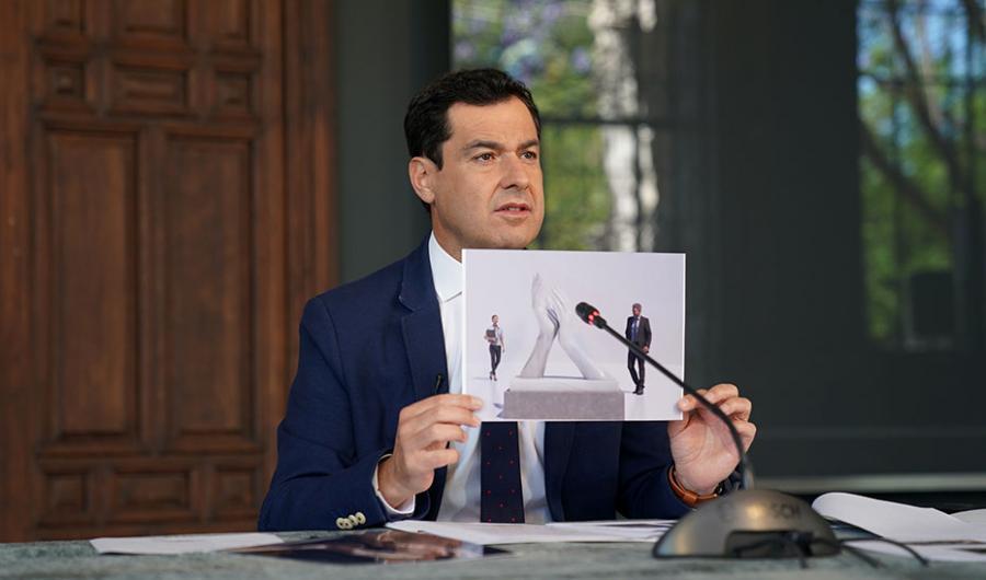 Actualidad Actualidad Moreno propone a las ocho capitales dedicar un monumento para reconocer a los profesionales que luchan contra el Covid-19