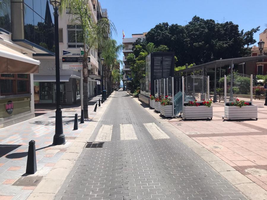 Fuengirola Fuengirola El lunes comienzan las obras para renovar el asfalto y mejorar la evacuación de aguas pluviales de calle Miguel de Cervantes de Fuengirola