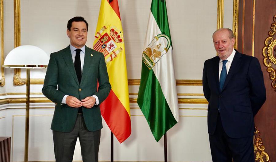Actualidad Actualidad Moreno aboga por estrechar la colaboración con provincias y ayuntamientos para paliar los efectos del Covid-19