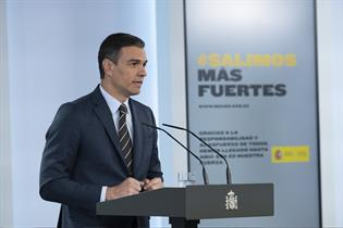 """Actualidad Actualidad Sánchez señala que la amenaza de una segunda ola del COVID-19 es un riesgo que """"tenemos que evitar a toda costa"""""""