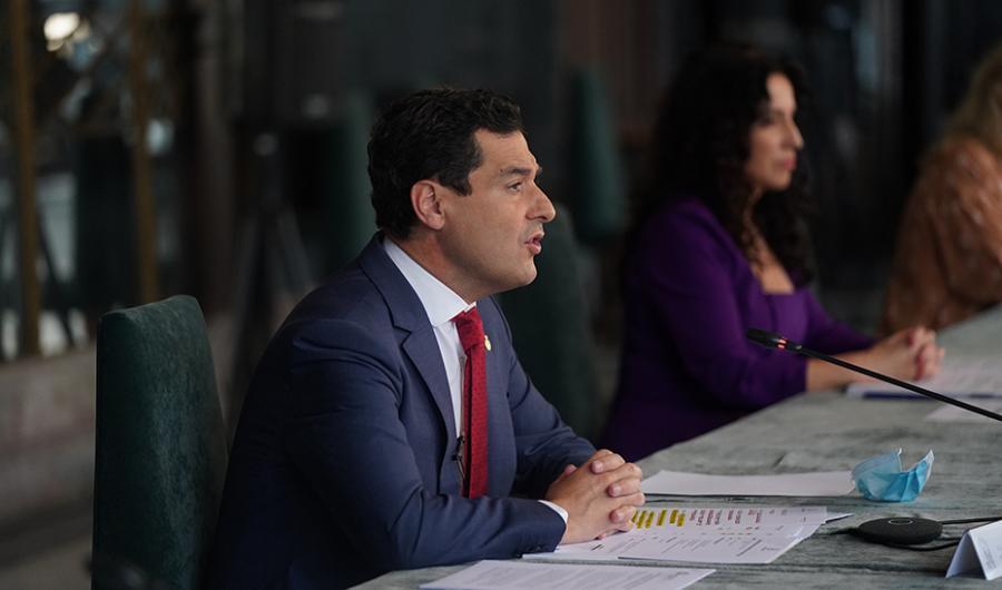 Actualidad Actualidad Moreno preside el pleno de constitución del Consejo Andaluz de Participación de las Mujeres