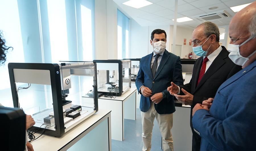 Actualidad Actualidad Andalucía amplía en casi 5.000 PCR diarias la detección del Covid-19 que realizarán dos estaciones robotizadas en Málaga y Sevilla