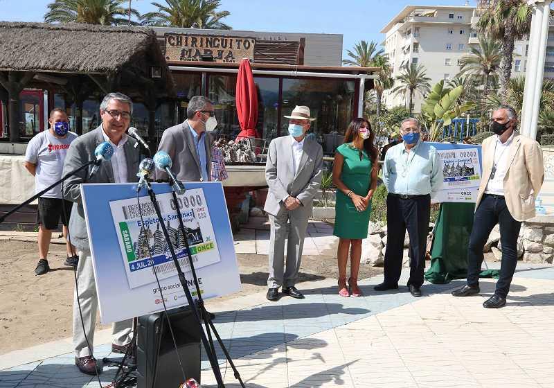 Malaga Malaga La ONCE dedica su cupón del próximo sábado al espeto de sardinas