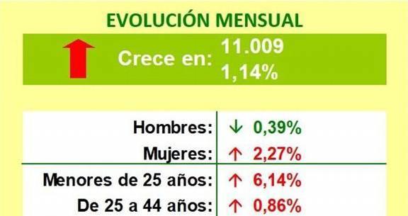 Actualidad Actualidad El paro sube un 1,14% en Andalucía en junio bajo la influencia aún del parón de la actividad por la alarma