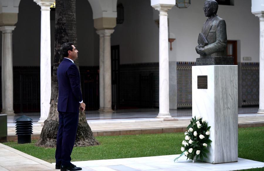Actualidad Actualidad Moreno apela a la Alianza por Andalucía como heredera del proyecto común de Blas Infante