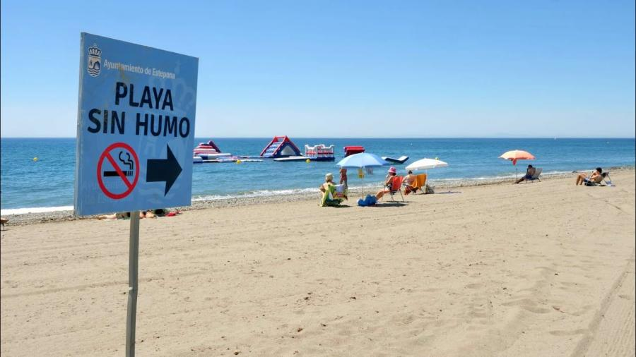 Estepona Estepona Estepona mantiene la 'Playa sin Humo' en La Rada por segundo año consecutivo