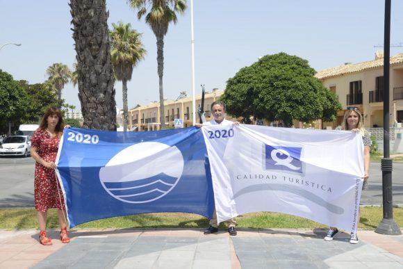 Torremolinos Torremolinos Torremolinos renueva la certificación de calidad de sus playas con la Bandera Azul y la 'Q de Calidad Turística'