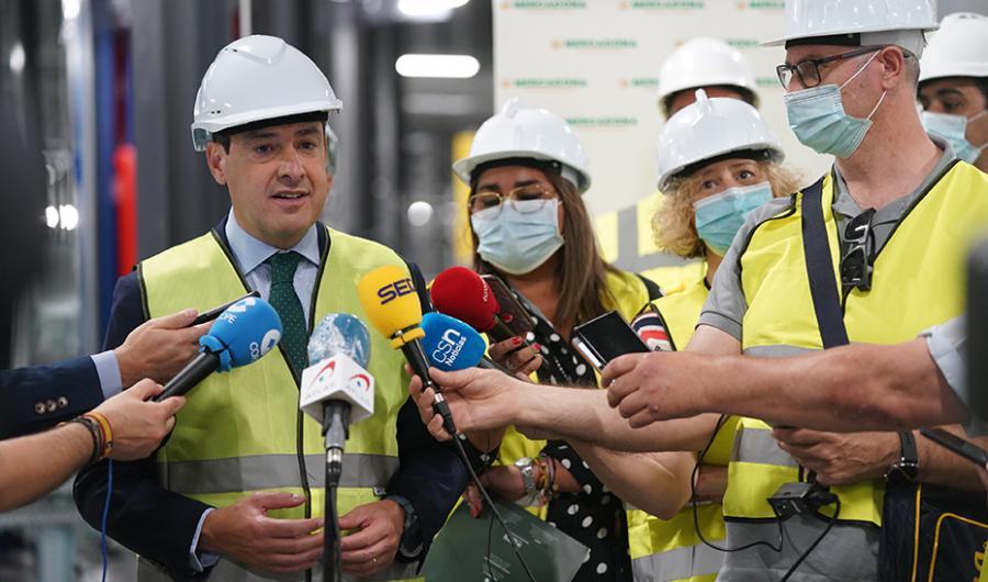 Actualidad Actualidad Moreno apela a la colaboración público-privada para la recuperación económica y social de Andalucía
