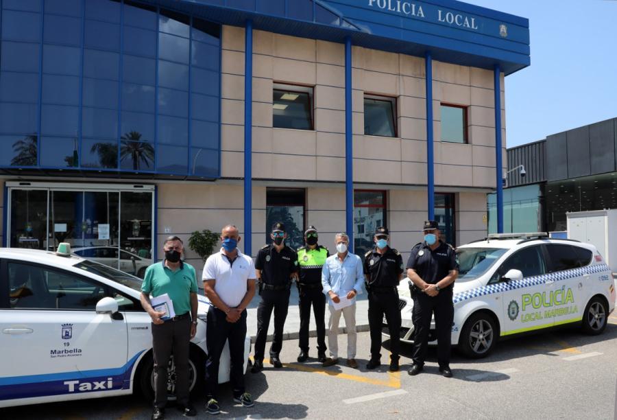 Marbella Marbella El Ayuntamiento de Marbella pone en marcha una nueva campaña para luchar contra el intrusismo en el sector del taxi