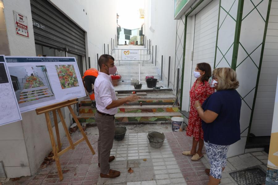 """Marbella Marbella El Ayuntamiento de Marbella realiza más de una veintena de actuaciones en La Patera """"para mejorar el día a día del barrio"""""""