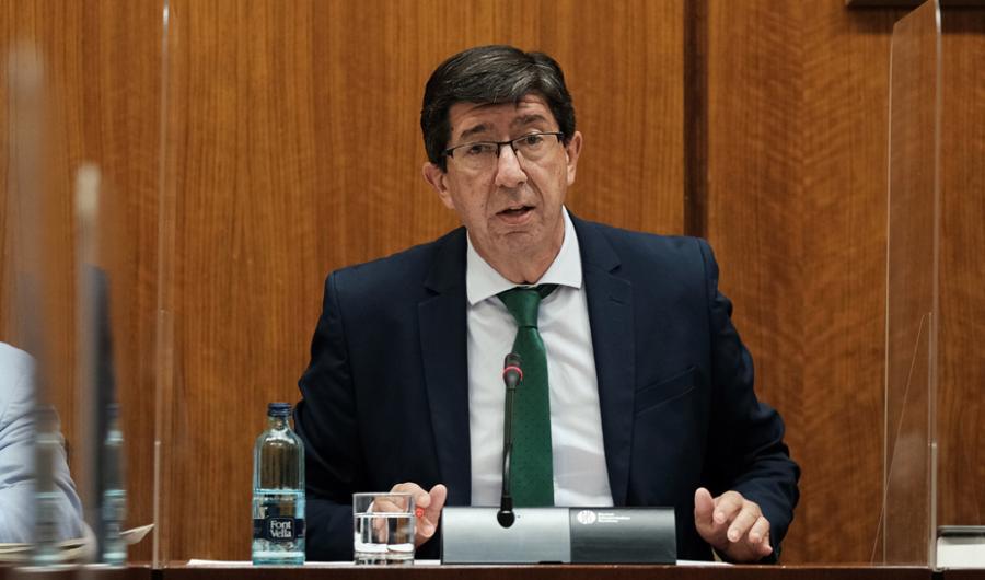 Actualidad Actualidad El vicepresidente Marín plantea la puesta en marcha del bono turístico el próximo otoño