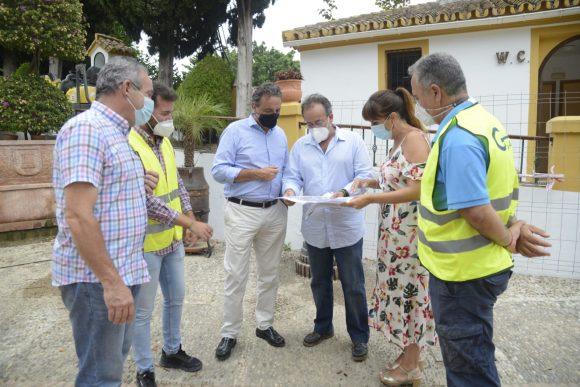 Torremolinos Torremolinos Las obras de mejora en la accesibilidad del Molino de Inca finalizarán este mes