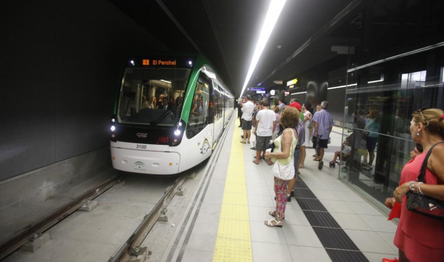 Malaga Malaga Autorizada una inversión de 9,2 millones para el montaje de vía del Metro de Málaga
