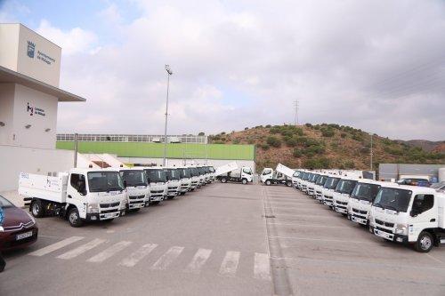 Malaga Malaga Limasam incorpora a su flota 20 vehículos ligeros polivalentes destinados a la recogida