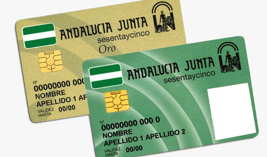 Actualidad Actualidad Más de 18.000 mayores se sacaron en el primer semestre su Tarjeta Andalucía Junta sesentaycinco