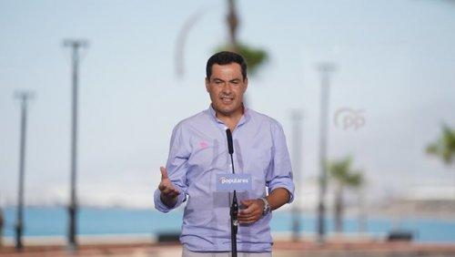 """Actualidad Actualidad Moreno acusa a Sánchez de """"dejación de funciones"""" y le urge a """"coordinar actuaciones"""" ante escalada del Covid"""