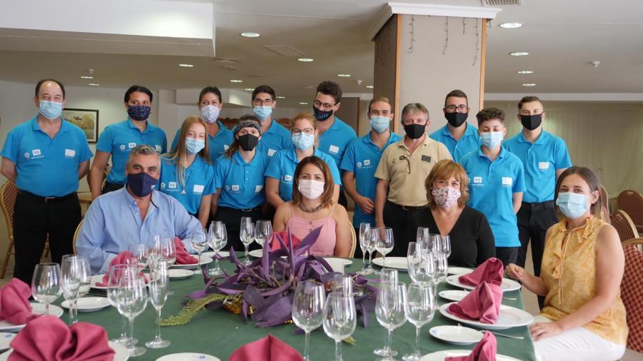 Mijas Mijas Los alumnos del curso de restauración de Mijas Impulsa completan su formación en el Hotel TRH Mijas