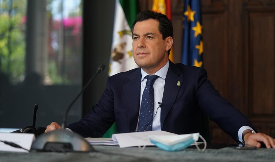 Actualidad Actualidad Moreno convoca a una ronda de contactos a responsables de los grupos parlamentarios