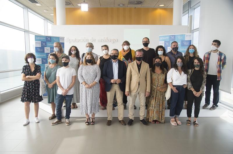 Malaga Malaga La Diputación refuerza su compromiso con el mundo de la cultura y programa más de un centenar actividades hasta final de año