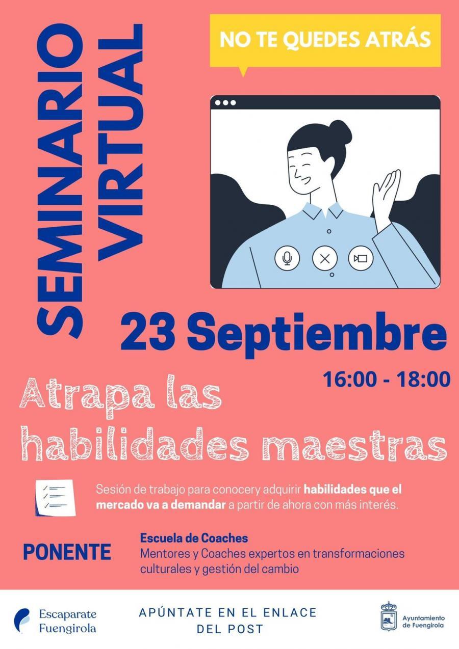 Fuengirola Fuengirola Comercio del Ayuntamiento de Fuengirola organiza una sesión de trabajo virtual para que los empresarios conozcan las nuevas demandas del mercado