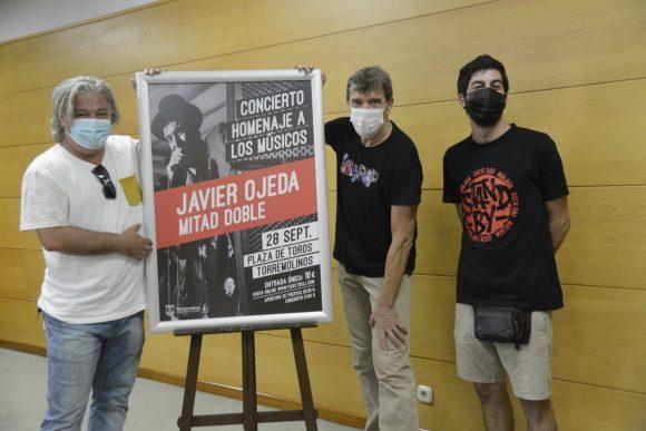 Torremolinos Torremolinos Javier Ojeda reivindica el papel de la cultura con un concierto en Torremolinos