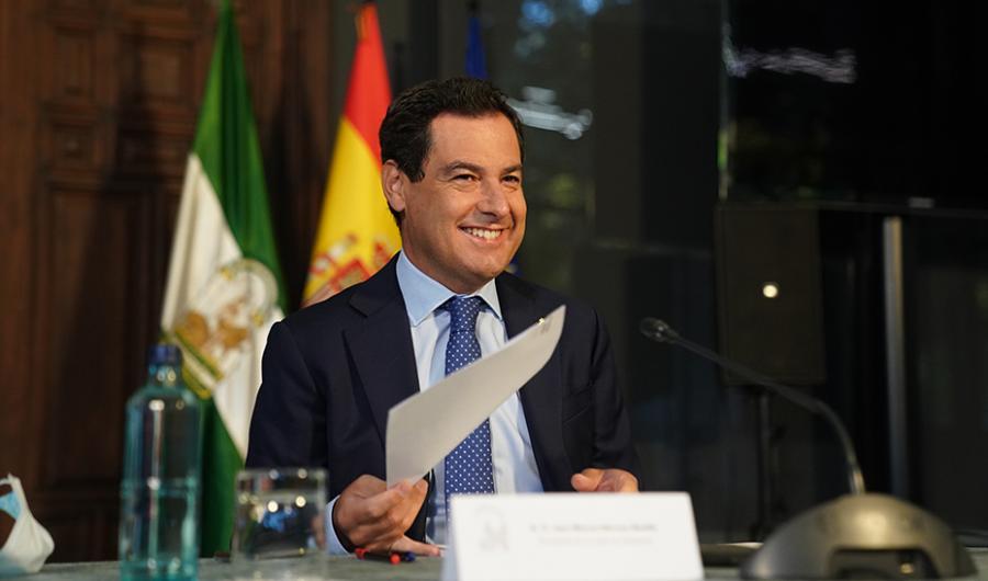 """Actualidad Actualidad Moreno reclama a Europa fondos """"bien calibrados"""" para que todas las regiones alcancen la neutralidad climática"""