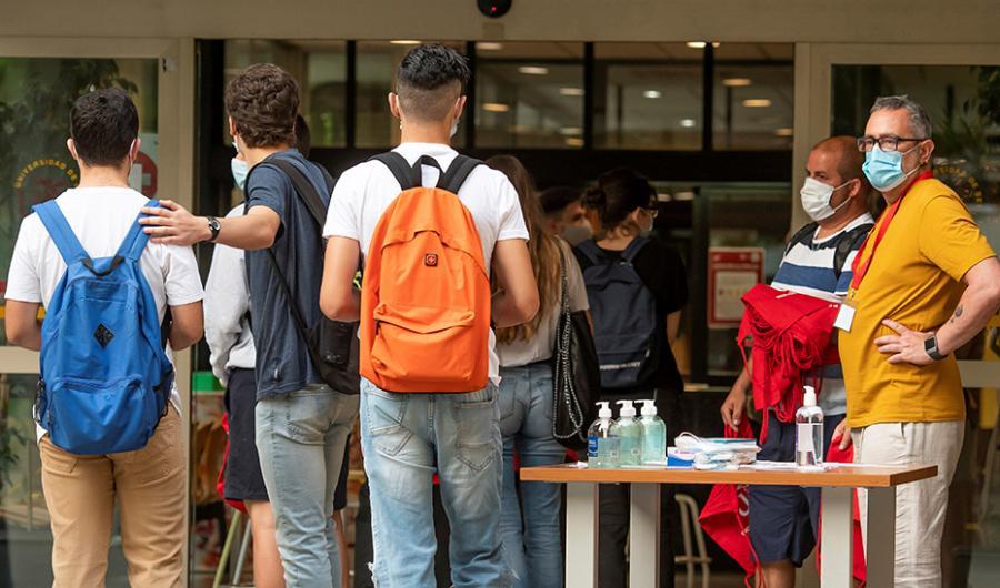 Actualidad Actualidad La Junta aconseja a residencias universitarias y colegios mayores elaborar planes frente a la Covid