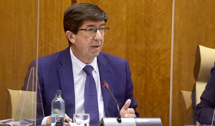 Actualidad Actualidad Juan Marín anuncia que la Ley Antifraude llegará al Parlamento de Andalucía en diciembre