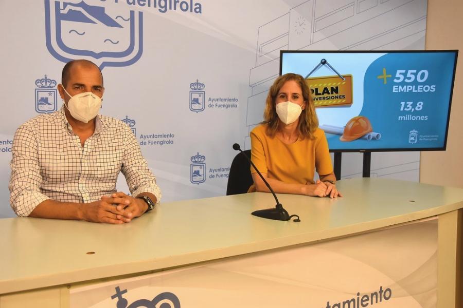 Fuengirola Fuengirola El Ayuntamiento de Fuengirola facilita la selección de personal para las 550 contrataciones que generarán las obras del Plan de Inversiones