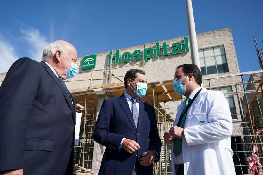 Actualidad Actualidad Moreno anuncia una inyección de 50 millones más para reforzar la sanidad andaluza ante la pandemia