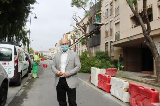 Mijas Mijas El Ayuntamiento de Mijas renueva el pavimento de calle Geranio eliminando las barreras arquitectónicas