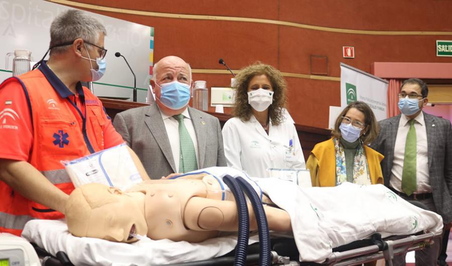 Actualidad Actualidad Andalucía investiga la aplicación de fisioterapia respiratoria mecánica en pacientes críticos por Covid